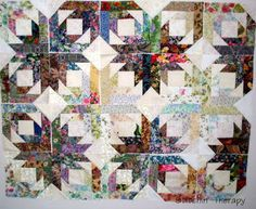 My journey in quilting that features watercolor quilts, scrap quilts, and lots of fabric and color.