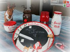 @HavingFunSaving How To Make Santa Mason Jars + More Holiday Jar Tutorials, including our OSAKIDS Santa's Message Cookie Plate! LOVE!