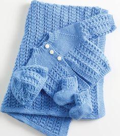 Knitmeasweater : Lullabies Layette #free # knitting pattern link here