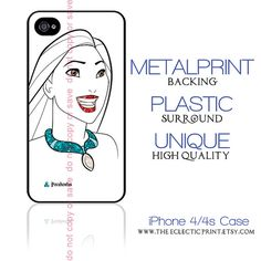 Disney Princess Pocahontas Minimalist iPhone case