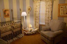 Peter Rabbit Nursery - curtains/ bedding match my chair!