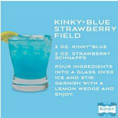 Kinky Blue Strawberry Field