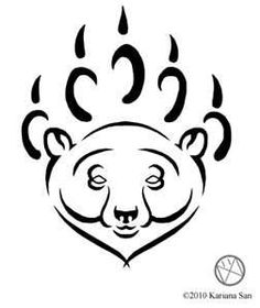 Tribal+Polar+Bear+Tattoo+By+KarianaSanpng