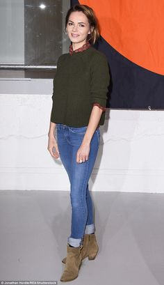 Kara Tointon cut a considerably more casual figure as she stepped out in central London on...