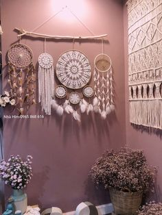 White and brown dream catcher wall hanging, large dreamcatcher, dream catchers, baby girl nursery by Himhandmade on Etsy Bohemian Curtains, Bohemian Room, Bohemian Design, Bohemian Decor, Bohemian Lighting, Bohemian Chic Home, Dream Catcher Craft, Large Dream Catcher, Dream Catcher Boho