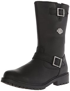 Harley-Davidson Men's Randy Engineer Motorcycle Boot >>> Read more reviews of the product by visiting the link on the image.
