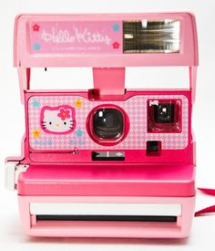 Polaroid Hello Kitty  Julia would LOVE this...didn't think they made these any more