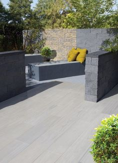 Our range of beautiful porcelain, natural stone and concrete paving slabs are designed to help you transform your garden or patio into a stunning showpiece, tranquil retreat or functional entertaining space. Concrete Paving, Paving Slabs, Garden Floor, Garden Paving, Modern Wood Bed, Hot Tub Room, Hot Tub Gazebo, Paved Patio, Outside Patio