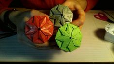 Star Top Origami Box - full movie