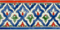ISTANBUL F Turkish Art, Turkish Tiles, Portuguese Tiles, Moroccan Tiles, Moroccan Decor, Moroccan Lanterns, Painting Ceramic Tiles, Tile Art, Wall Tiles