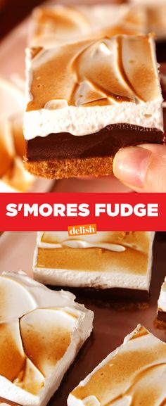 S'mores lovers, this is so worth fudging up your diet. Get the recipe from Delish.com.