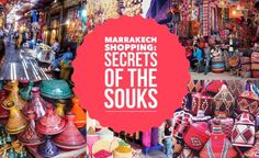 SECRETS OF THE SOUKS: SHOPPING IN MARRAKECH - Marrakech is a paradise for the shopping addict and there's no better place to buy yourself an excess baggage fee than in the city's exotic and world-renowned souks. Read more on the blog...