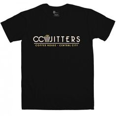 Inspired by #TheFlash - Men's CC Jitters Coffee House t-shirt  from 8Ball.co.uk