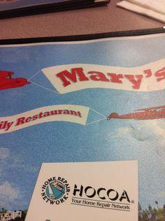 Mary's Family Restaurant