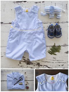 Turn Your Vintage Shirts Into Chic New Clothes for The Kids   Petite Marin