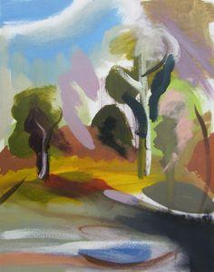 Ivon Hitchens (1893-1979) was een Engels schilder die begonnen met exposeren tijdens de jaren 1920. Hij werd een deel van de ' London Group ' van kunstenaars en exposeerde met hen tijdens de jaren 1930. Hij is vooral bekend door panoramische landschap schilderijen. Ivon's zoon John Hitchens en kleinzoon Simon Hitchens zijn beide kunstenaars.