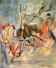 Don Quichotte et le Sortilège des Vaches à rayures