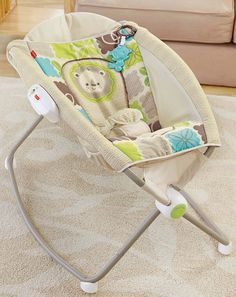 Amazon.com : Fisher-Price Newborn Rock 'n Play Sleeper, Rainforest Friends : Infant Bouncers And Rockers : Baby