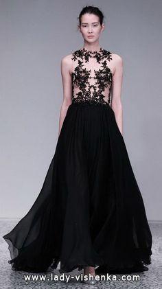 20. Schwarz Brautkleid  Alle Schwarz Brautkleid http://de.lady-vishenka.com/black-white-wedding-dress-2016/