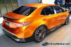 2015 Toyota Corolla rear view