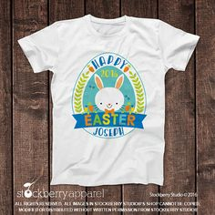 2fed1374bff5a Items similar to Kids Easter Shirts - Personalized Easter Shirt - Custom  Toddler Easter Shirt Boy - Custom Easter Shirt - Easter Egg Hunt Shirt or  Bodysuit ...