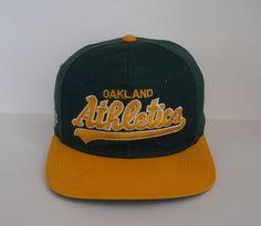 Sports Specialties Oakland Athletics Twill Colorway Script Snapback