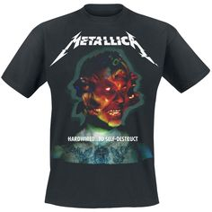 Hardwired To Self-destruct Metallica T-shirt Thrasher, Hardwired To Self Destruct, Metallica T Shirt, Clothing Haul, Gaming Merch, Biker T Shirts, The Big Four, Thrash Metal, Depeche Mode