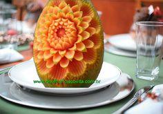Lesson 2, Carving, การแกะสลักผลไม้, 水果雕刻, Ukiran buah, 果物のカービング, Khắc tr...