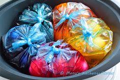 Manus Küchengeflüster: Erfolgreiches Experiment: Ostereier im TM31 färben