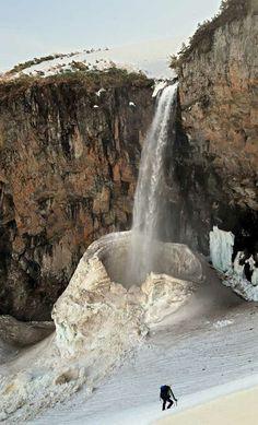 Hyaku Yonjo Waterfall, Ishikawa, Japan
