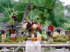 Woodland Runner   20 Unexpected Wedding Flower Ideas   https://www.theknot.com/content/unique-wedding-flower-ideas