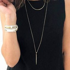 The Kari necklace, love it! Can wear this 3 ways!  Stella & Dot is all about versatility