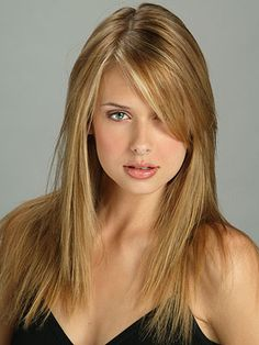 Long Bangs Hairstyles 50 Cute And Effortless Long Layered Haircuts With Bangs  Pinterest
