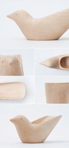 Tropical Bird oiseau pour bureau par Matter&Matter - Blog Esprit Design
