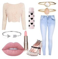 """""""casual"""" by mimi1324 on Polyvore featuring Coast, Glamorous, Lime Crime, Accessorize, RED Valentino and Bling Jewelry"""