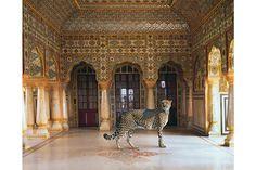 The Return of the Hunter, Chandra Mahal, Jaipur City Palace, Jaipur.