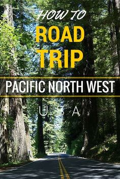 The Pacific Northwest of the USA offers some of the most beautiful landscapes anywhere in the world. So naturally the best way to see it up close is on a well-planned road trip. Here is a route you can take from San Francisco to Seattle and back. Road Trip Usa, West Coast Road Trip, Columbia River Gorge, Places To Travel, Places To See, Camping Places, Landscape Arquitecture, San Francisco, Oregon Washington