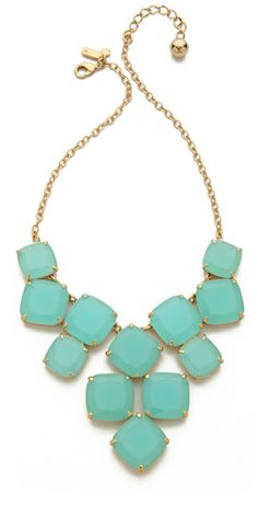 Shaken Stirred Statement Necklace