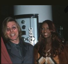David and Iman, 1999 Iman And David Bowie, David Bowie Pictures, Bwwm, Twiggy, Black Star, David Jones, Duke, Interracial Couples, Planet Earth