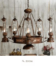 rustic light