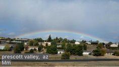Rainbow over Prescott Valley, AZ