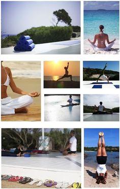 Yoga beach holidays at sardiniayoga.com in Spain and Sardinia. 22 March - 8 November 2014