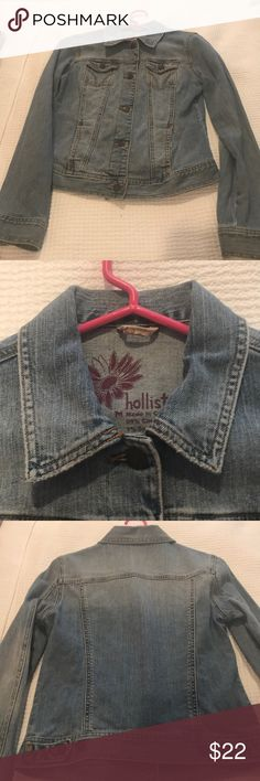 Hollister denim jacket Perfect condition Hollister Jackets & Coats Jean Jackets