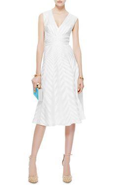 Silk-Organza A-Line Dress by J. Mendel - Moda Operandi