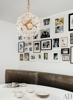Gallery Wall How-To: 5. Keep in mind, there is no specific formula for creating a beautiful wall. So enjoy the creative process, and let your personality be reflected in your display.