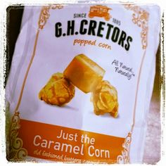 My favorite caramel popcorn