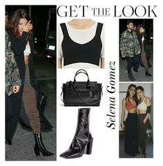 """""""Selena Gomez With the Weeknd at Guarulhos Airport in Sao Paulo, Brazil March 25 2017"""" by valenlss ❤ liked on Polyvore featuring Balenciaga and Coach"""