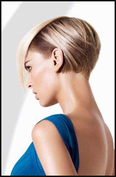 10.Half Shaved Pixie Cut | ~Beauty~ | Pinterest | Kurze haare ... | Einfache Frisuren