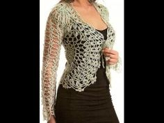 Pattern for this lovely crochet bolero…. Crochet Bolero, Crochet Jacket, Crochet Diagram, Crochet Cardigan, Love Crochet, Crochet For Kids, Crochet Yarn, Knit Crochet, Crochet Woman