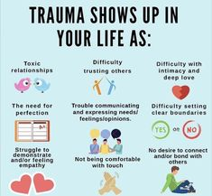 Mental And Emotional Health, Mental Health Awareness, Inner Child Healing, Trauma Therapy, Therapy Tools, Intuitive Empath, Stress Disorders, Bipolar Disorder, Psychology Facts